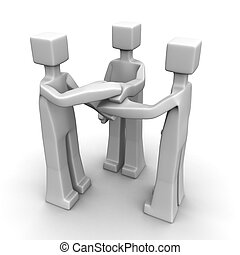 collaboration, concept, association