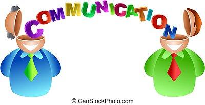 communication, cerveau