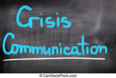 communication, concept, crise