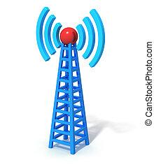 communication sans fil, tour
