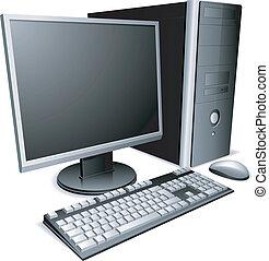 computer., bureau