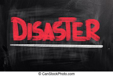 concept, désastre