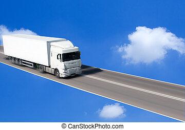 conduite camion