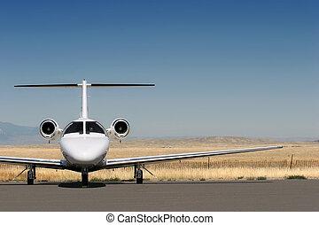 constitué, jet privé