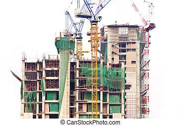 construction, bâtiment.