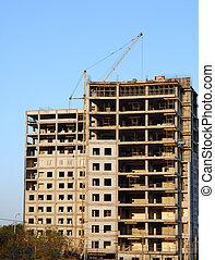 construction bâtiments, bureau
