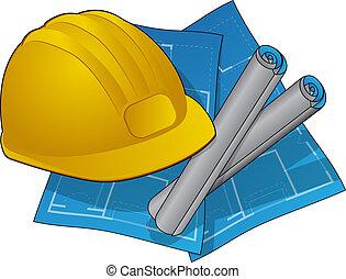 construction maison, icône