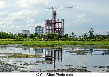 construction, plant.