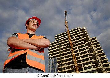 construction, surveillant