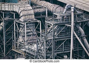 construisant industrie, fond