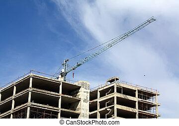 construit, bâtiments