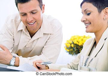 couple, business, fonctionnement