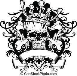 couronne, crâne