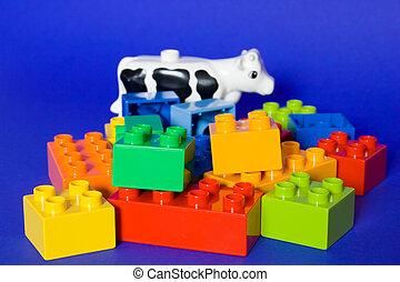 cube, blocs