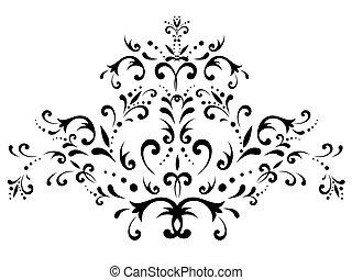 décoration florale, résumé