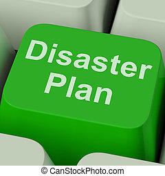 désastre, urgence, protection, plan, clã©, crise, spectacles