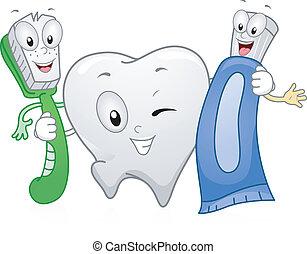 dentaire, produits