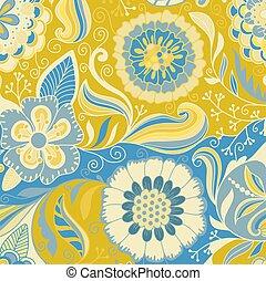 design., résumé, arrière-plan., élément, floral, vector.