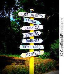 destinations tropicales