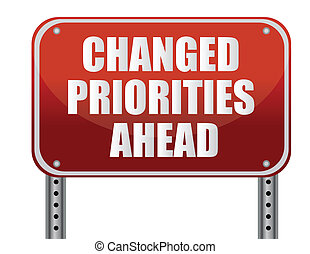 devant, changed, priorities