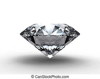 diamant, reflet