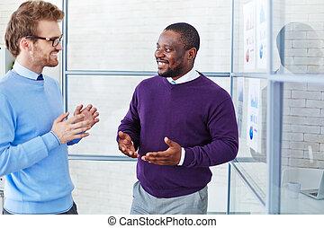 discussion, bureau