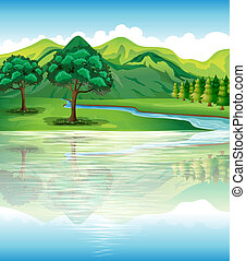 eau, notre, terre, ressources naturelles