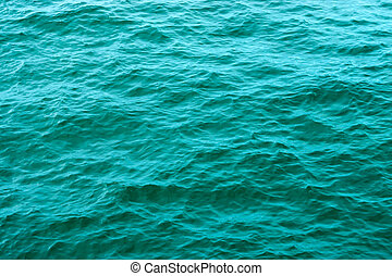 eau, vert, mer, surface