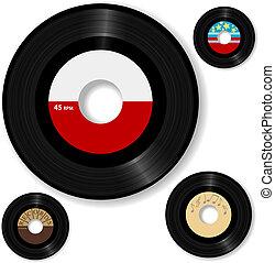 enregistrement, 45 tpmrificatio, retro