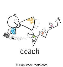 entraîneur, entraîneur, business