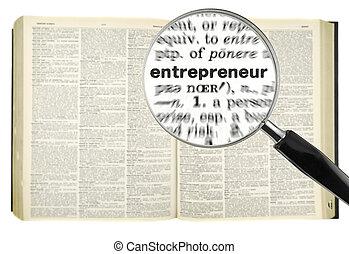 entrepreneur, recherche