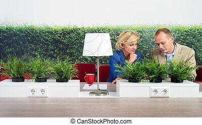environmentalists, bureau, fonctionnement, bureau