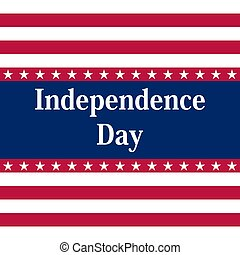 etats, america., uni, jour, indépendance