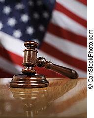 etats, uni, droit & loi