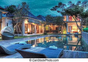 exotique, villa