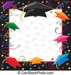 fête, remise de diplomes, invitation