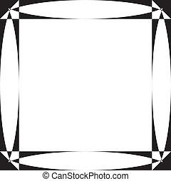 fond, écran, pseudo, élément, transparence, parabolique, cadre