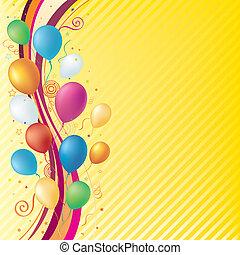 fond, célébration
