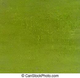 fond, vert