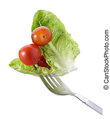 fourchette, légume