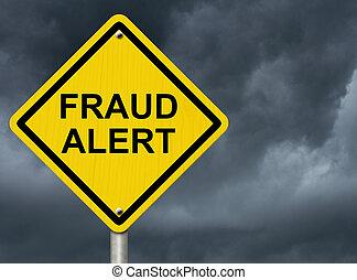 fraude, alerte