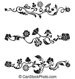frise, conception, classique