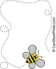 frontière, abeille