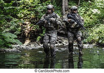 gardes forestiers, armée, montagnes