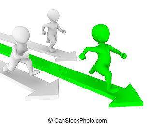 gens, concept., concurrence, petit, runs., 3d