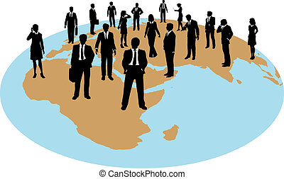 global, force, professionnels, travail, ressources