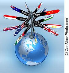 global, tourisme, business