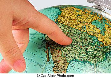 globe, etats unis