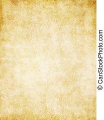 grand, vieux, texture, papier, fond, parchemin
