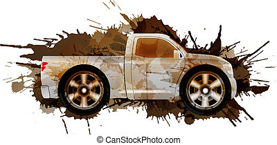 grandes roues, pick-up, sale